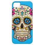 Caso de Iphone 5 del cráneo del azúcar Funda Para iPhone 5 Barely There
