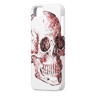 Caso de IPhone 5 del cráneo iPhone 5 Carcasa