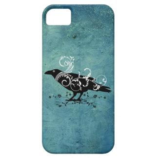 Caso de Iphone 5 del cuervo y del trullo de los Funda Para iPhone 5 Barely There