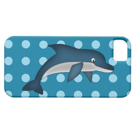 Caso de Iphone 5 del delfín iPhone 5 Case-Mate Funda