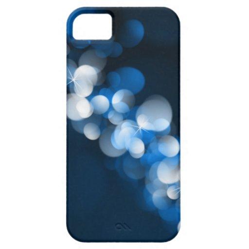 Caso de Iphone 5 del diseño de las luces de Bokeh iPhone 5 Carcasa