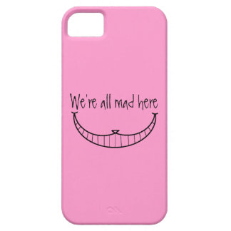 Caso de Iphone 5 del gato de Cheshire Funda Para iPhone 5 Barely There