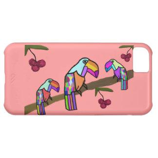 Caso de IPhone 5 del hábitat de Toucan Funda Para iPhone 5C