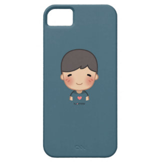 Caso de Iphone 5 del muchacho de la HJ-Historia Funda Para iPhone 5 Barely There