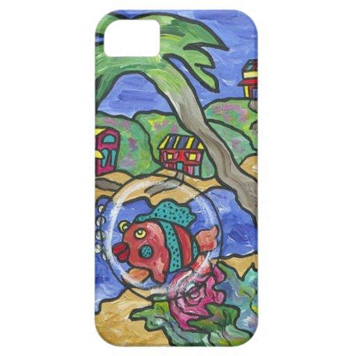 Caso de Iphone 5 del paraíso de Key West iPhone 5 Case-Mate Funda