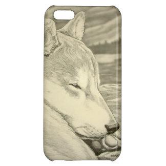 Caso de Iphone 5 del perro de Shiba Inu del caso