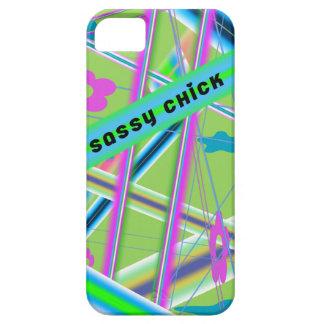 Caso de Iphone 5 del polluelo de Sazzy iPhone 5 Case-Mate Funda