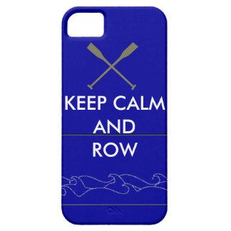 Caso de IPhone 5 del Rowing iPhone 5 Carcasas