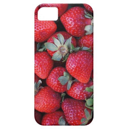 Caso de Iphone 5 del sueño de la fruta de la fresa iPhone 5 Protector