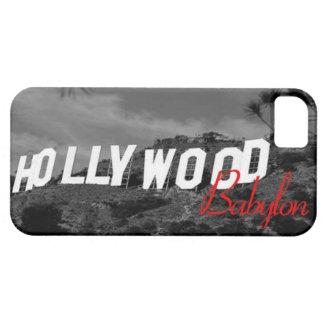 Caso de IPhone 5. FUNCIONARIO de Hollywood Funda Para iPhone SE/5/5s