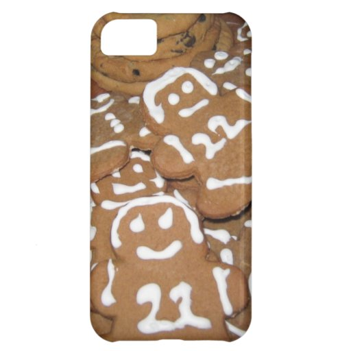 Caso de Iphone 5 - galletas del pan de jengibre Funda Para iPhone 5C