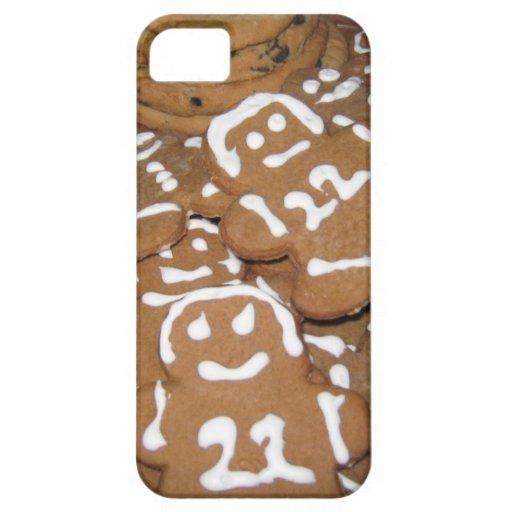 Caso de Iphone 5 - galletas del pan de jengibre Funda Para iPhone SE/5/5s