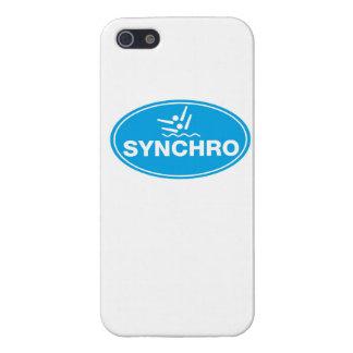 CASO de IPHONE 5 - natación sincronizada - icono iPhone 5 Funda