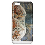 Caso de Iphone 5C del tigre el dormir