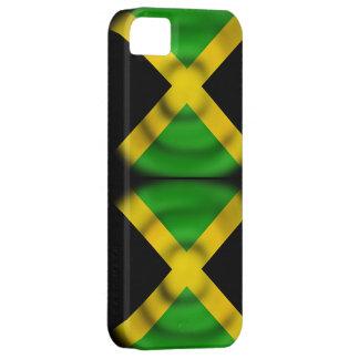 Caso de Iphone 5S de la bandera de Jamaica iPhone 5 Fundas