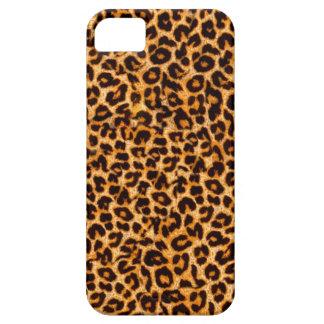 Caso de Iphone 5S del estampado leopardo iPhone 5 Carcasas