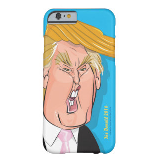 Caso de Iphone 6 /6s del dibujo animado de Donald Funda Para iPhone 6 Barely There