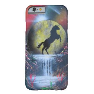 Caso de Iphone 6/6s del unicornio Funda Barely There iPhone 6