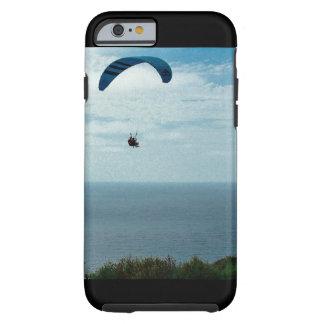 Caso de IPhone 6/6s, playa del negro del glidder Funda Resistente iPhone 6