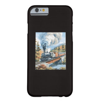 Caso de Iphone 6 con una locomotora de vapor Funda Para iPhone 6 Barely There