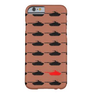 Caso de Iphone 6 de la guerra del tanque Funda Para iPhone 6 Barely There