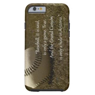 Caso de Iphone 6 de los amantes del béisbol Funda De iPhone 6 Tough