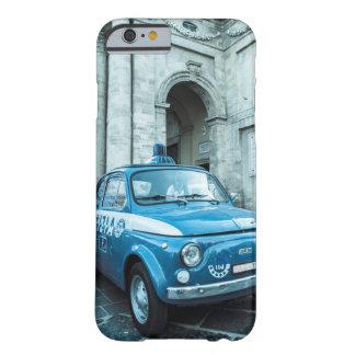 Caso de Iphone 6 del coche policía de Fiat 500 en Funda Para iPhone 6 Barely There