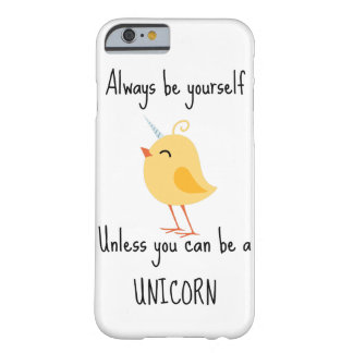 Caso de Iphone 6 del unicornio Funda Para iPhone 6 Barely There