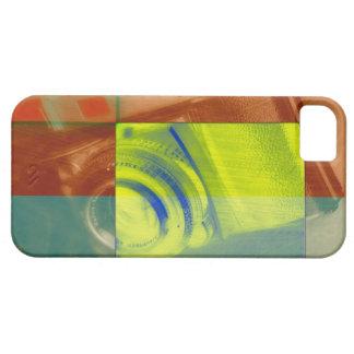 Caso de Iphone con diseño cubista de la cámara Funda Para iPhone SE/5/5s