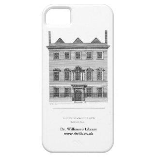 Caso de IPhone con el edificio de la calle de la C iPhone 5 Fundas