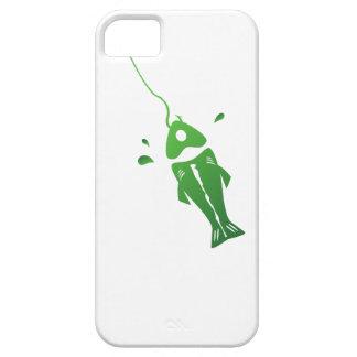 Caso de Iphone con los pescados iPhone 5 Fundas