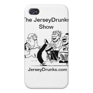 Caso de Iphone de la demostración de JerseyDrunks iPhone 4 Funda