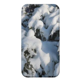 Caso de Iphone de la escena Nevado iPhone 4 Cárcasas