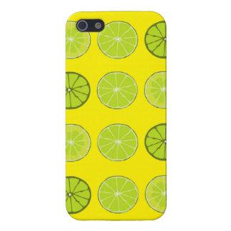 Caso de Iphone de la lima agria iPhone 5 Carcasas