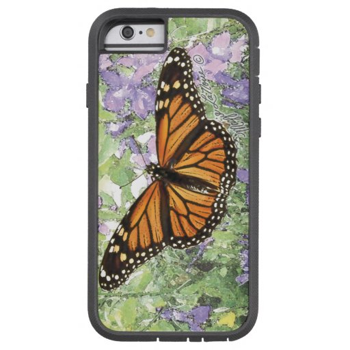 Caso de IPhone de la mariposa de monarca Funda De iPhone 6 Tough Xtreme