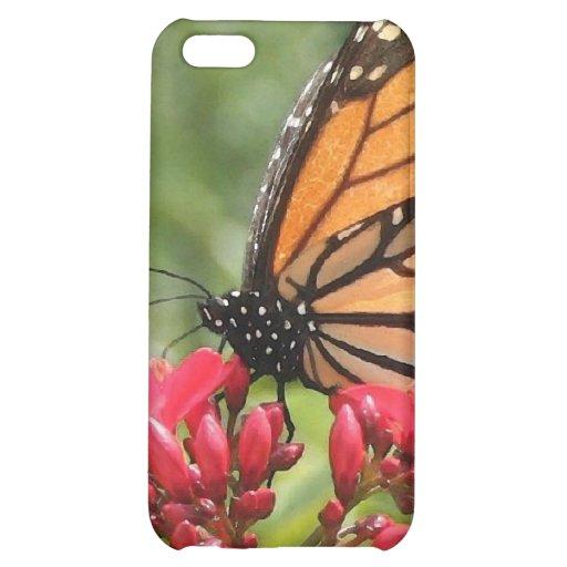 Caso de Iphone de la mariposa de monarca