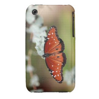caso de Iphone de la mariposa iPhone 3 Case-Mate Cárcasas