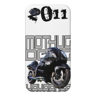 Caso de IPhone de la motocicleta de la fricción de iPhone 4/4S Funda