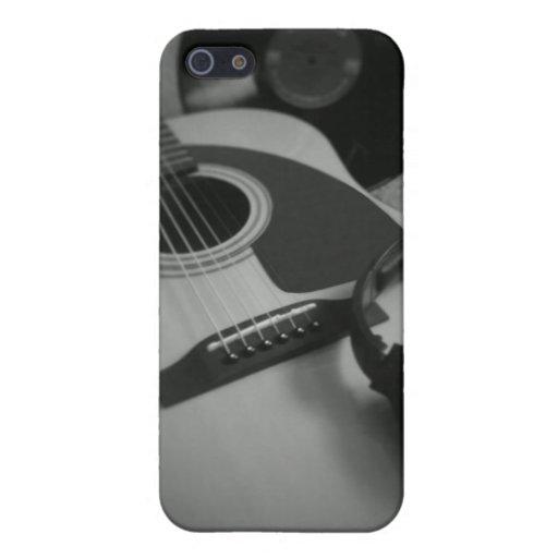 Caso de IPhone de la música iPhone 5 Funda