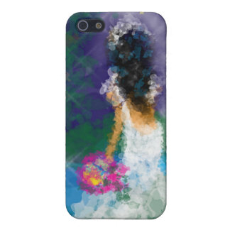 Caso de Iphone de la novia de la tarde iPhone 5 Carcasa