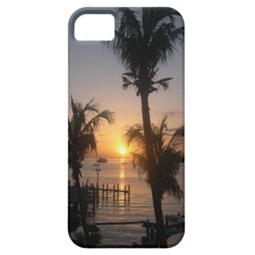 Caso de Iphone de la puesta del sol iPhone 5 Carcasa