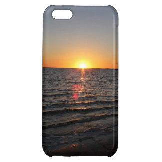 Caso de Iphone de la puesta del sol