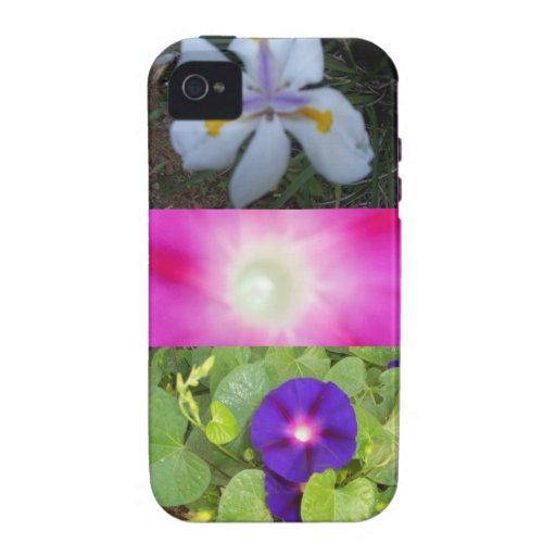 Caso de IPhone de las flores Funda Case-Mate Para iPhone 4