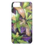 Caso de Iphone de las hojas