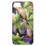 Caso de Iphone de las hojas iPhone 5 Case-Mate Carcasas