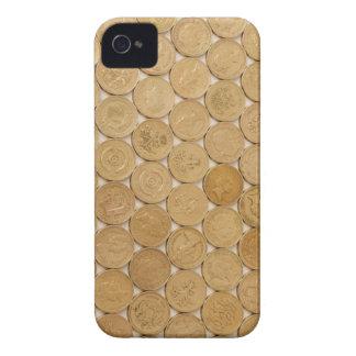 Caso de IPhone de las monedas Case-Mate iPhone 4 Fundas