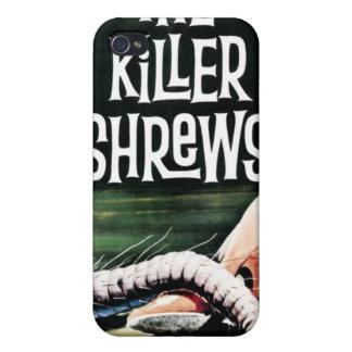 """Caso de Iphone """"de las musarañas del asesino"""" iPhone 4/4S Carcasa"""
