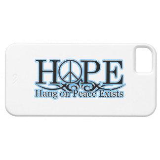 Caso de Iphone de las siglas de la esperanza iPhone 5 Fundas