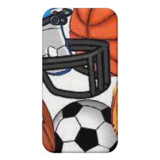 Caso de IPhone de los deportes iPhone 4/4S Funda