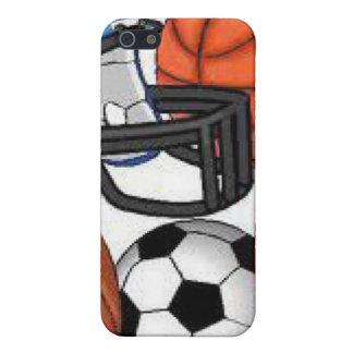 Caso de IPhone de los deportes iPhone 5 Carcasa